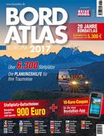 BORDATLAS – karavanová stání v Evropě